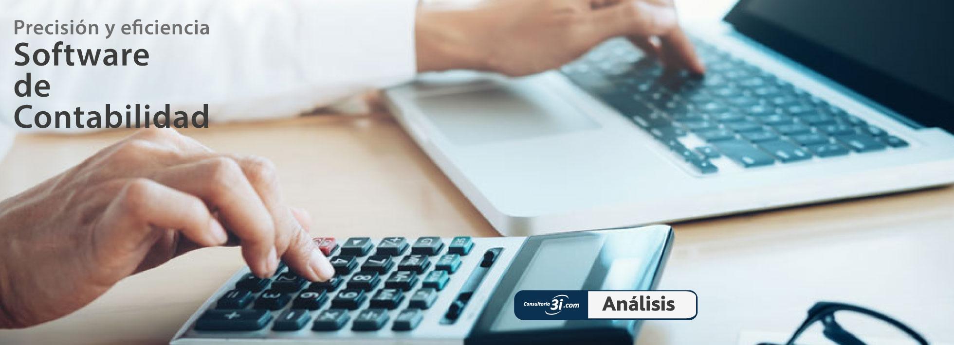 Software contabilidad precisión eficiencia