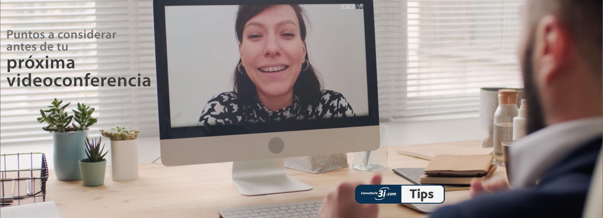 Consejos para una videoconferencia profesional en casa